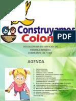 SOCIALIZACION DE SERVICIOS DE PRIMERA INFANCIA-NOVIEMBRE 2019