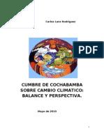 Encuentro de Cochabamba sobre cambio climático