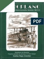 Revista Aeroplano número 08 del año 1990