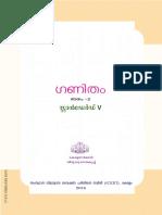 SCERT Kerala State Syllabus 5th Standard Maths Textbooks Malayalam Medium Part 2.pdf