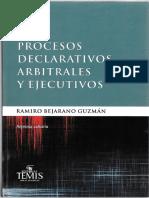 Procesos Declarativos, Arbitrales y Ejecutivos- Bejarano.pdf