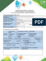 Guía para el desarrollo del componente práctico - Línea de profundización en sistema de producción bovina de carne