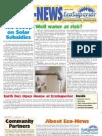 Spring 2006 Eco Newsletter, EcoSuperior