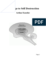 The Urge to Self Destruction