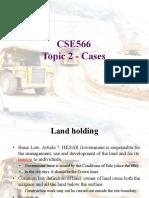 CSE566 Topic 2 Cases 20200217