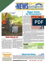 Spring 2009 Eco Newsletter, EcoSuperior