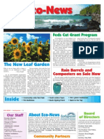 Spring 2010 Eco Newsletter, EcoSuperior