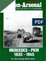 Waffen Arsenal S59 - Mercedes Pkw 1935-1945+