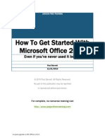 How To Get Started Using Microsoft Office 2010 Even If You've Never Used It Before