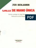 Benjamin - Dirección única.pdf
