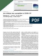 criancas menos suscetíveis covid