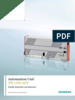 Automation Unit TM 1703 ACP Flexible automation and telecontrol