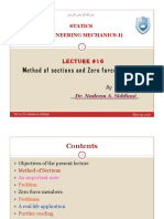 GE 201-Lecture-16(Method of section and zero force members) [Read-Only]