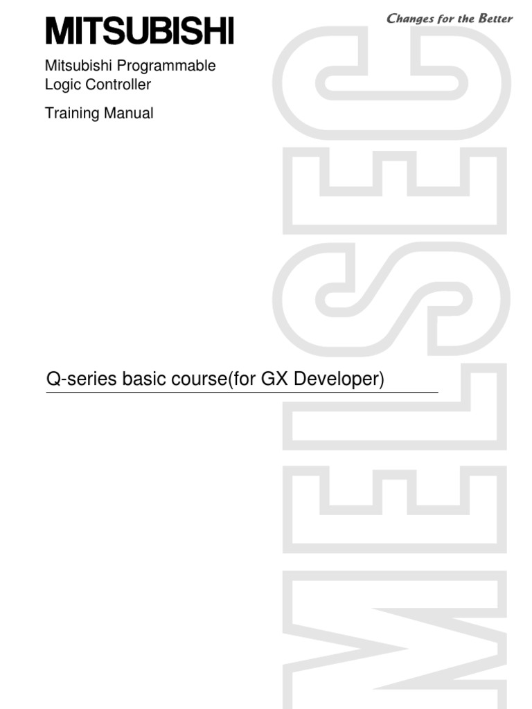 Plc Training ManualQ Series Basic Course (for GX Developer)E | Relay