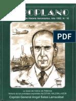 Revista Aeroplano número 10 del año 1992