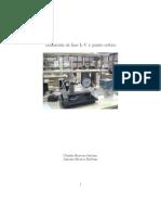 Transición de fase L-V y punto crítico