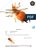 Management of Termite-converted