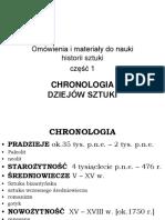 1a-chronologia dziejow sztuki