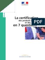 Certification en 7 Questions