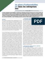Optimisation des plans d'autocontrôles microbiologiques dans les entreprises agro-alimentaires