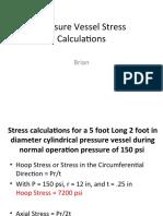 Pressure Vessel Stress Calculations.ppt