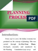 PLANNING PROCESS ppt
