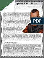 Faction Journal Cards - Full Sheet