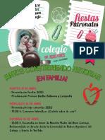 Programa Fiestas Patronales 2020