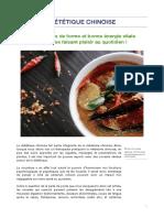 Article Dietetique Chinoise