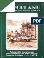 Revista Aeroplano número 12 del año 1994