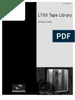 StorageTek-L700 Operator Guide