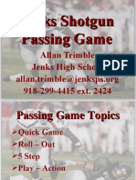Jenks HS Passing Game