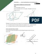 4- INTERSECCIÓN DE PLANOS Y DE RECTAS CON PLANOS (1)
