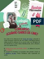 Concurso Fiestas 2020 Colegio