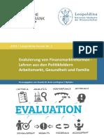 Bundesbank - 2018 - Evaluierung von Finanzmarktreformen