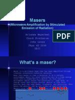 MasersPresentation