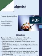 Analgesics agents ZJ