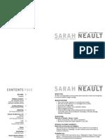 Sarah Neault Portfolio 2011