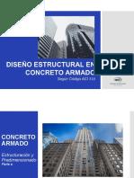 2- Concreto Armado - Estructuración y Predimensionado. Parte a - Ing. Antony J. Quintero D..pdf