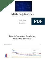 1. Marketing Analytics Session-I&II S