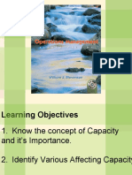 OPM-capacity and capacity planning