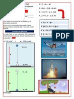 Guía de Trabajo Física 10  No. 8 Caída Libre