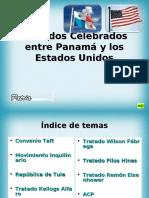 Convenios y Tratados Celebrados entre Panamá y los Estados Unidos