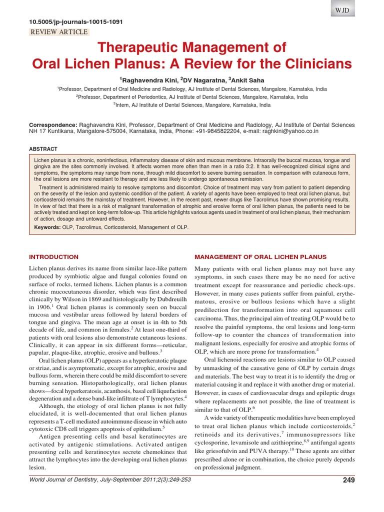 over the counter topical steroids for lichen planus