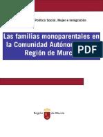Las familias monoparentales en la Comunidad Autonoma de la Region de Murcia