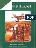 Revista Aeroplano número 14 del año 1996