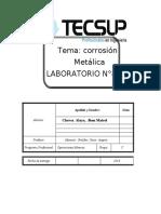 INFORME 6  laboratorio QUIMICA PARA MINERIA . xd
