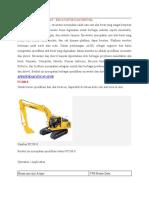 329403104 Spesifikasi Alat Berat Exca