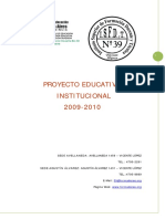 DOCUMENTO PROYECTO EDUCATIVO