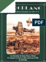 Revista Aeroplano número 15 del año 1997